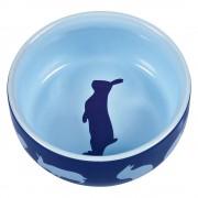 Trixie Comedero de cerámica para conejos - Conejo 250 ml, Ø 11 cm