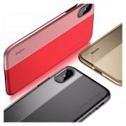 Funda Original Baseus Half To Half Case Iphone X