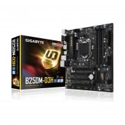 Tarjeta Madre GIGABYTE GA-B250M-D3H 4xDDR4 2xPCIE USB3 HDMI Socket 1151-Negro