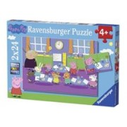 Puzzle Purcelusa Peppa (2X24 Pcs)