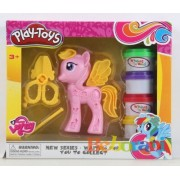 Пластелин Play Toys с пони