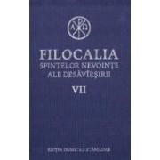 Filocalia 7 Sfintelor nevointe ale desavarsirii ed.2017