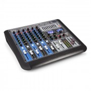 Power Dynamics PDM-S804, mixer muzical, 8 canale, DSP/MP3, port USB, receptor bluetooth (Sky-172.622)