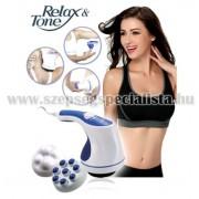 RELAX & SPIN TONE – zsírégető és bőrfeszesítő masszírozó