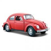 Maisto - 1/24 Volkswagen Beetle Classic (Red)