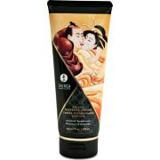 Shunga Erotic Art Massage Cream - Almond - crema da massaggio edibile