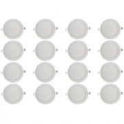 Bene LED 12w Round Slim Panel Ceiling Light Color of LED White (Pack of 16 Pcs)