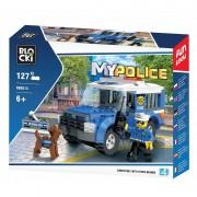 Joc constructie Blocki, Jeep-inchisoare politie, 127 piese