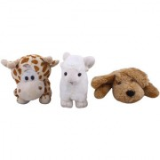3 Pet Animals Cow Goat Dog