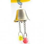 AST Works Bird Parrot Chew Toys Large Pet Bells Cage Swing Hanging Bell String Toys New