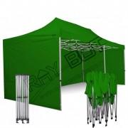 ray bot Gazebo pieghevole 3x6 verde Exa 45mm TOP alluminio con laterali PVC 350g