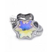 Talisman din Cristale Swarovski Brie Charm Pandantiv Compatibil Bratari Pandora Aurore Boreale