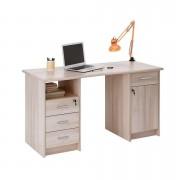 Demeyere bureau Monaco - licht eiken - 73x60x135 cm - Leen Bakker