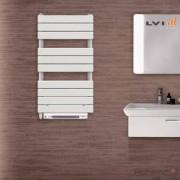 LVI Sèche-serviettes électrique LVI - APANEO RF T Soufflant 1450W (500W + 950W) FLUIDE - 4890031