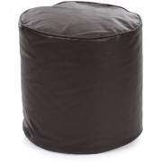 Home Story Round Ottoman Medium Size Brown Cover Only