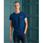 Superdry Vintage T-Shirt aus Bio-Baumwolle mit Stickerei aus der Orange L L blau
