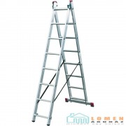 KRAUSE CORDA 2x8 fokos többcélú létra 030283 (010285)
