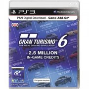 Кредити за Gran Turismo 6 2.5 Million In game credits HU за PlayStation 3