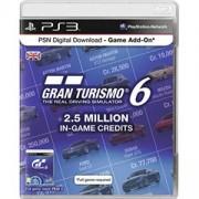 Кредити за Gran Turismo 6 2.5 Million In game credits HU за PlayStation 3