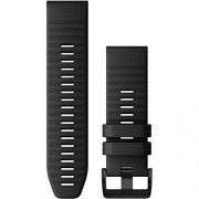 Garmin 010-12864-00 Band Correa QuickFit de Silcona Negra (26mm), color Negro,, pack of/paquete de 1