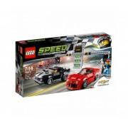 LEGO Speed Champions 75874 - Състезание с Chevrolet Camaro