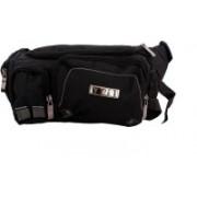 Sri Safe Pocket Waist Bag(Black)