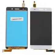 Дисплей + Тъч скрийн за Huawei Honor 4C Бял