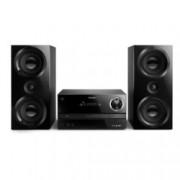 Аудио система Philips Micro BTM3360, 2.0, 150W, Bluetooth, CD, CD-R/RW, MP3-CD, USB, черна
