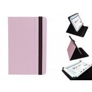 Hp Slate 8 Pro Cover, Handige Standen Hoes, Multi-stand Case, Kleur Roze, merk i12Cover