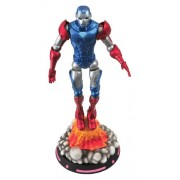 Diamond Select Toys Marvel Select What If Captain America Action Figure, Multi Color