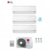 LG CLIMATIZZATORE CONDIZIONATORE LG TRIAL SPLIT 7+7+7 INVERTER LIBERO PLUS 7000+7000+7000 CON U.E. MU3M19 UE4 - WI FI INTEGRATO