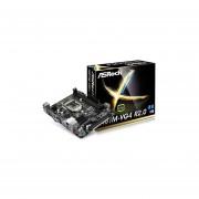 Tarjeta Madre ASRock H81M-VG4 R2.0 2xDDR3 PCI-E 2xUSB3 Socket 1150-Negro