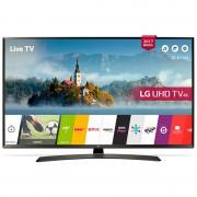 Televizor Smart LED LG 123 cm Ultra HD 49UJ635V, WiFi, USB, CI+, Black