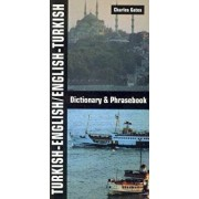 Turkish-English/English-Turkish Dictionary and Phrasebook, Paperback/Charles Gates