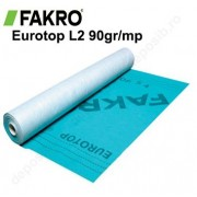 Folie difuzie acoperis anticondens Fakro Eurotop L2 90gr/mp