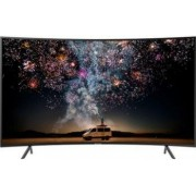 Televizor LED 138 cm Samsung 55RU7302 4k Ultra HD Smart TV Curbat Bonus Ceas de perete Esperanza