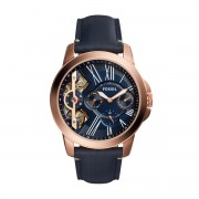Часовник FOSSIL - Grant ME1162 Blue/Rose Gold