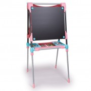 Smoby Kid's Adjustable Double Easel Pink 410203