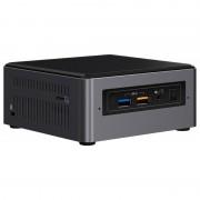 Next Unit of Computing Kit NUC7I5BNH - Barebone - mini ordinateur de bureau - 1 x Core i5 7260U / 2.2 GHz - Iris Plus Graphics 640 - GigE - LAN sans fil: 802.11a/b/g/n/ac, Bluetooth 4.2 BOXNUC7I5BNH