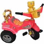 Oh Baby Baby Duck Shape Music With Full Plastic Body Red Color Tricycle For Your Kids SE-TC-16