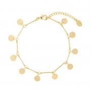 Bracelet Gold Disc - Armbanden