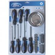 Set surubelnite Ford Tools FHT-C-0004 cu 31 piese