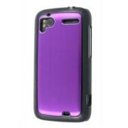 Brushed Aluminium Case for HTC Sensation - HTC Hard Case (Lavender Purple)