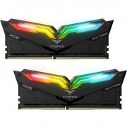 DDR4, KIT 16GB, 2x8GB, 3000MHz, Team Group Elite T-Force Night Hawk Black RGB, 1.35V, CL16 (TF1D416G3000HC16CDC01)