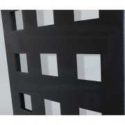 Designradiator Square Sanicare 180x40cm Antraciet