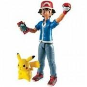 Set Figurine Pokemon Action Figure Ash & Pikachu
