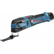 Akumulatorski višenamenski alat Bosch GOP 12V-28 - Renovator; 2x2,5Ah; L-Boxx (06018B5000)