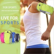 Tech Gear Arm Band Bag Waterproof Sport Armband Unisex Running Jogging Gym Arm Band Case Cover for Mobile Phones Green