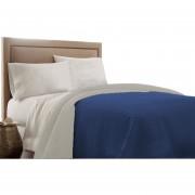 Quilt Biancobelo Bicolor Azul/Beige