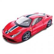 Bburago 1:18 FERRARI Signature Series 458 SPECIALE Diecast Car Model Red